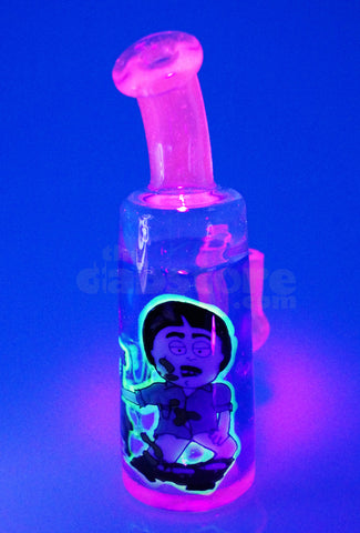 Armor Glass - Randy Marsh Rosin Splooge 14 MM Female Joint (Blue Dream, Illuminati, & Lucy)