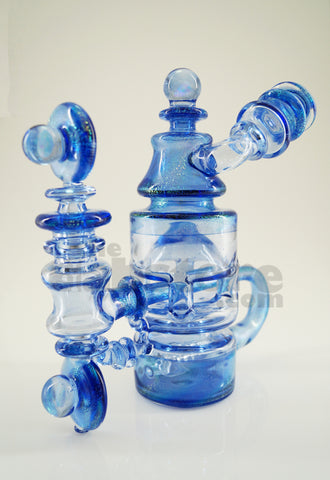 Bear Mountain Studios - Dichro Globalt Exploded Honey Jar Recycler