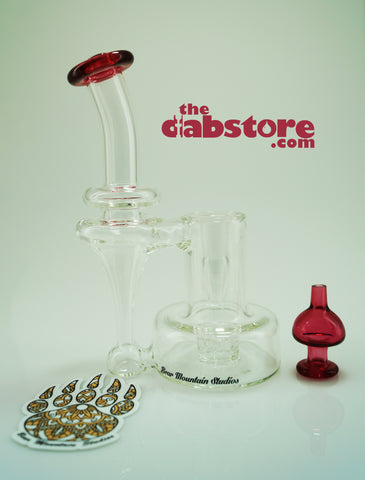 Bear Mountain Studios - Gold Ruby Refined Bell Recycler 14 MM