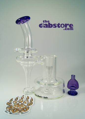 Bear Mountain Studios - Purple Potion Refined Bell Recycler 14 MM