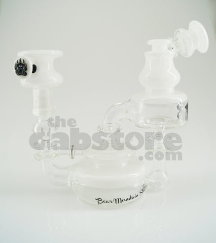 Bear Mountain Studios - Snow White Honey Jar Recycler 14 MM Male