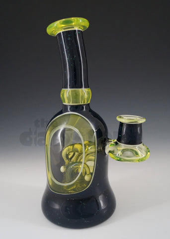 Bowman Glass - Full Scene Window Tube Illuminati / Crushed Opal
