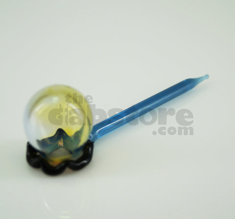 Worked Bubble Stick Carb Cap & Dabber #15