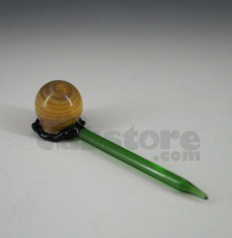 Worked Bubble Stick Carb Cap & Dabber