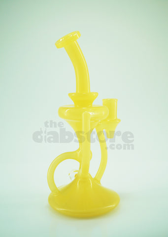 Casa Glass - 14 MM F Shifty Peach Recycler