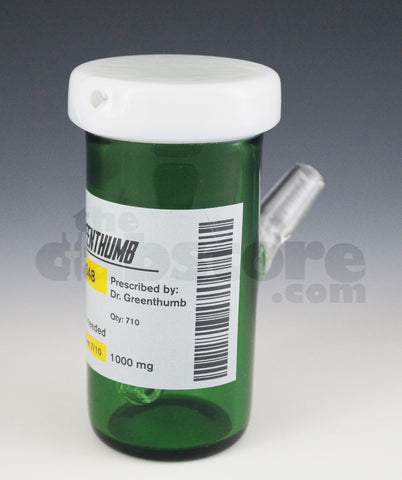 Dr Green Thumb Glass 14 MM Patient 710 Bottle