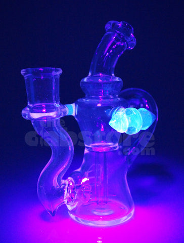Huffy Glass - Atomic Breath Single Arm Micro Trophy Recycler 14 mm F