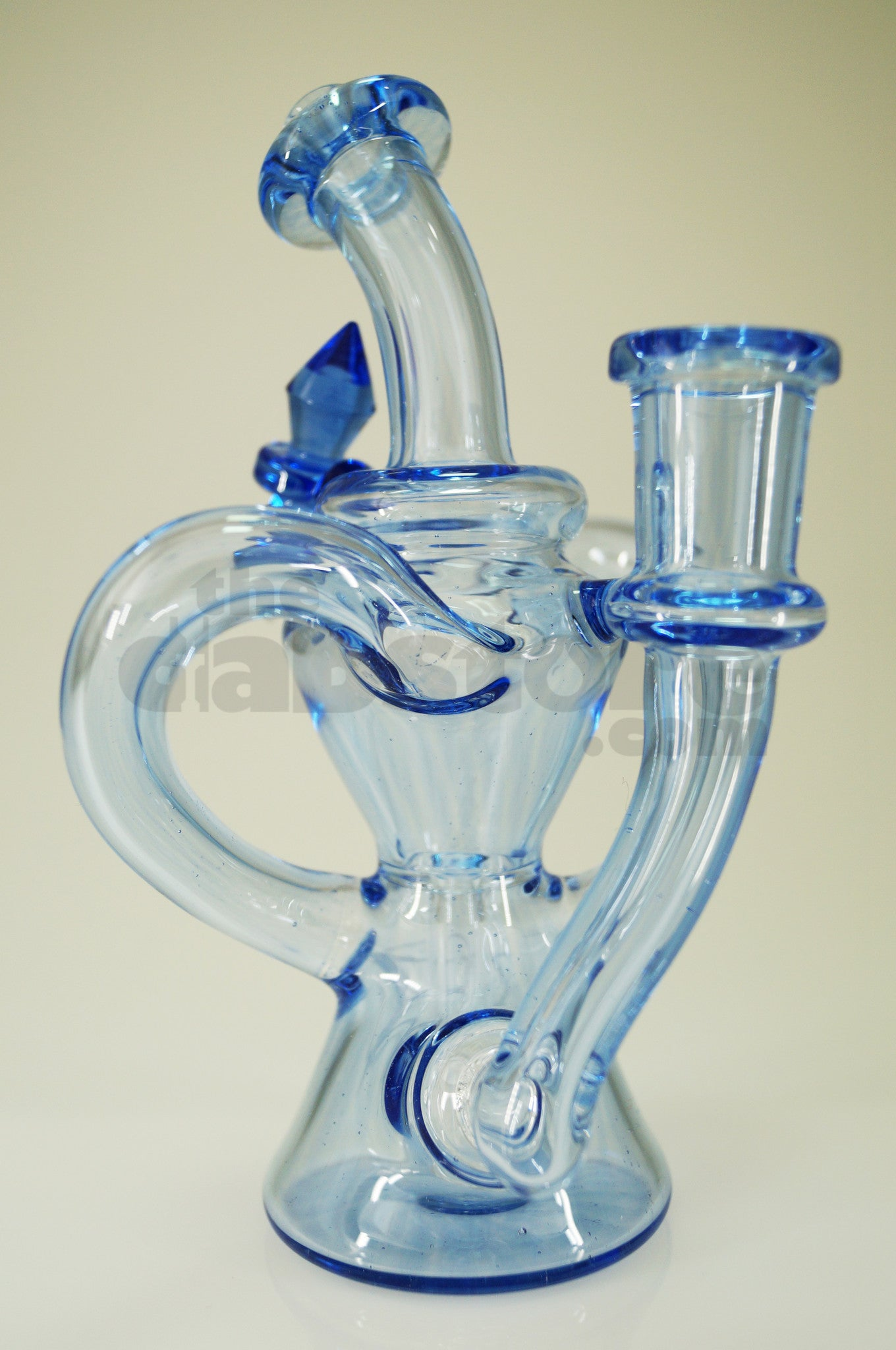 Huffy Glass - Blue Dream Dual Arm Trophy Recycler 14 mm F | TheDabstore