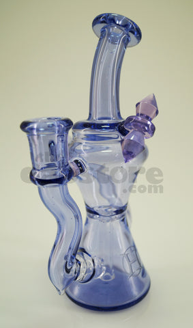 Huffy Glass - Greasey Purp Single Arm Trophy Recycler 14 mm F