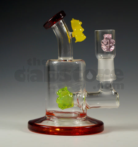 Logjam Glass Gummy Bear Rig #2 14 MM
