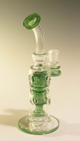Logjam Glass Green Stardust Straight Swiss Stack 14 MM