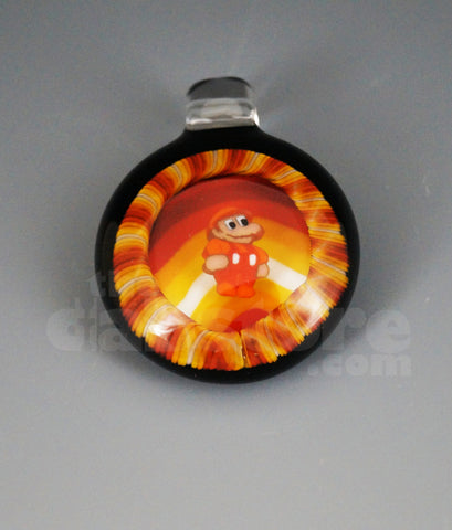Micro's Workshop Fire Mario Pendant