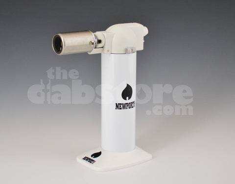 Newport Butane Zero Torch Mirror White