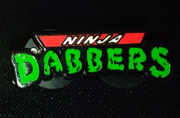 Dab Clothing - Ninja Dabbers Hat Pin