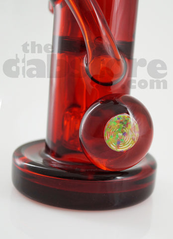 Pyrology Glass 14 MM F Pomegranate OG Recycler