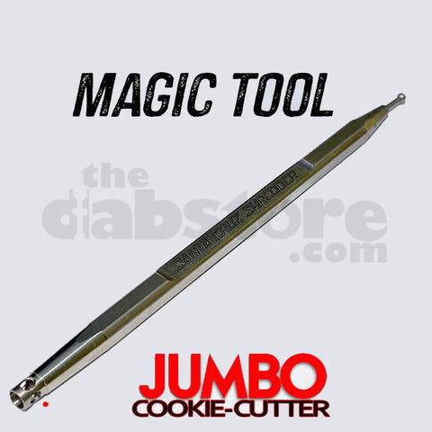 Santa Cruz Shredder - Cookie Cutter JUMBO dabber (Magic Tool)