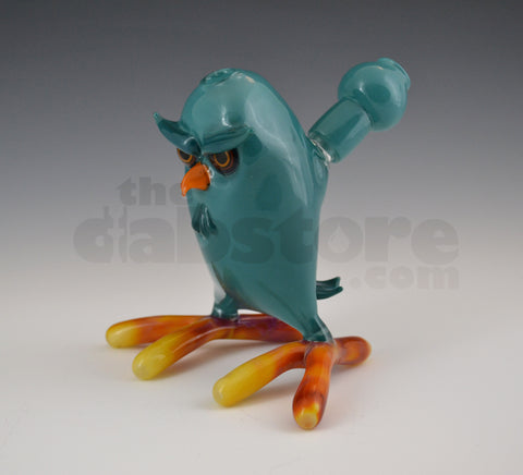 Shack Man Glass Agua Azul 14 MM Owl Rig