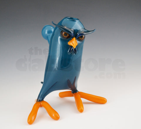 Shack Man Glass Blue Peacock 14 MM Owl Rig
