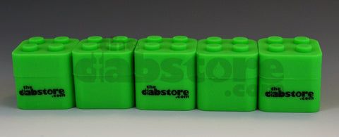 5 pack silicone dab blocks