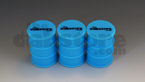 Silicone Oil Barrel Wax Jar 3 pack