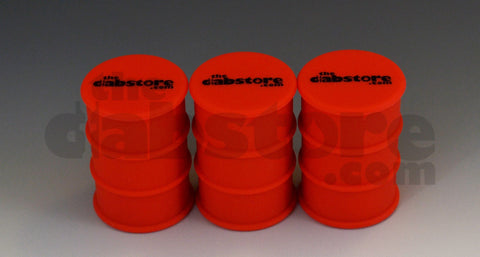 Silicone 3 pack oil barral wax jars