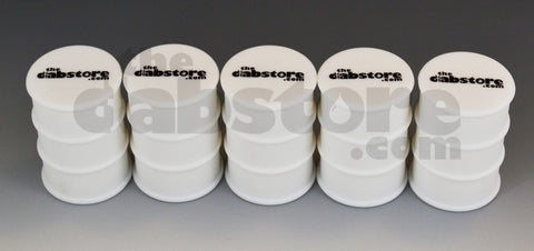 5 pack silicone oil barrel jars