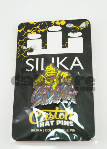 Silika Glass - Wax Monster Hat Pin