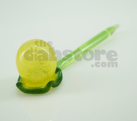 Worked Bubble Stick Carb Cap Dabber #14