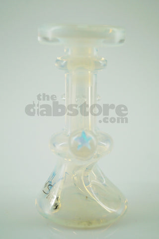 Zombie Hand Studios -Opaline Mini Rig Dry Herb Bowl / Carb Cap