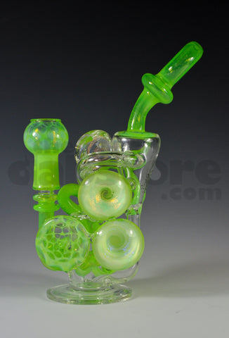 Anodyne Glass Slime Drip Overload Mini Recycler 14 MM