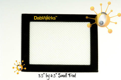 "DabWorks 3.5"" x 4.5"" Small Silicon Dab Pad / Mat"