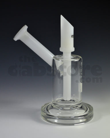 Grav Labs Sidecar Bubbler Rig White / Black 14 MM