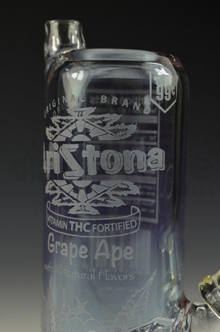 High Tech Glassworks Aristona Grape Ape Can Rig 14 MM