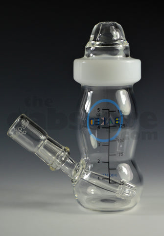 High Tech Glassworks Clear Baked Baby Bottle 14 MM