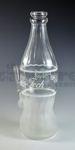 High Tech Glassworks Clear Coca Cola Bottle 14 MM