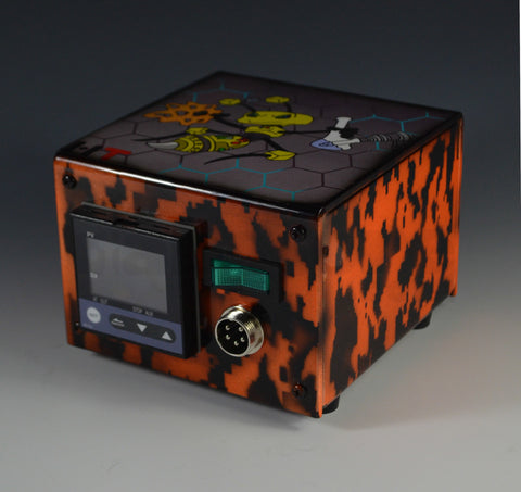 High Tech Titanium Mini Honey Highve Electric Nail - Custom (Digitial Orange Camo)