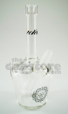 iDab Glass - Clear Mini Bottle Rig 10 MM Male Joint