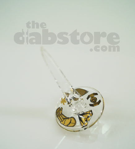 iDab Glass - Team Deathstar Terp Turner Directional Carb Cap #1