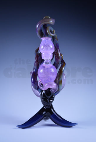 LaceFace Glass Goddess Mini Tube w/ Matching Pendant 14 MM