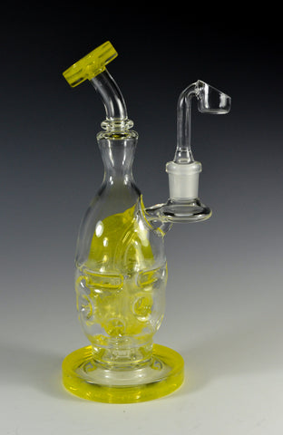 Mad Rob Glass Lemondrop Mini Faberge Egg 14 MM Female