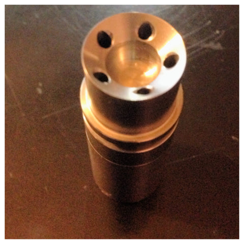 High Tech Titanium 14/10mm Domeless Nail Male Joint