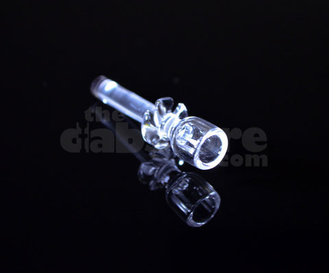 Pukin' Beagle Glass 18 MM Quartz Cupped Nail - Short