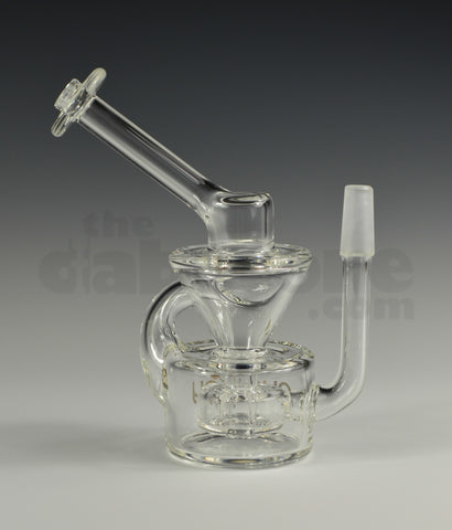 Pyrology Glass 10 mm Dime Piece Mini Recycler