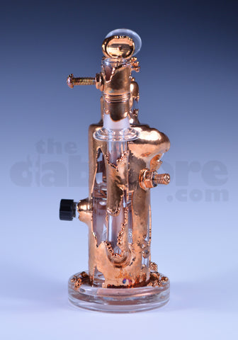 Pyrology Glass x Snic Copper Electroformed Reycler 14 MM