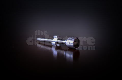 Silika Glass 10 MM Adjustable Titanium Nail