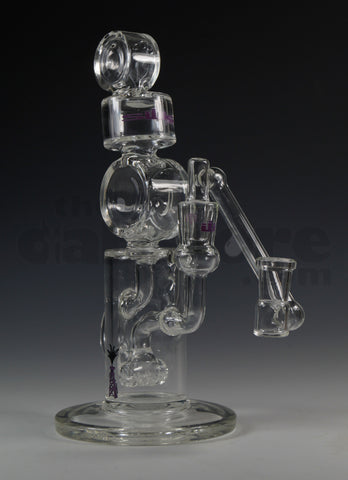 Silika Triple Puck Klein Recycler 14 MM