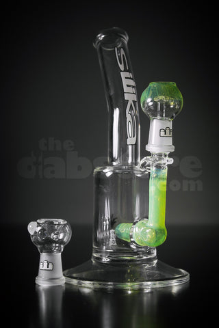 Silika Slyme Bent Neck Micro Oiler 14 mm