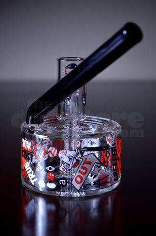 Ski Mask Glass Pole jam w/ Cage Perc #5 10 MM