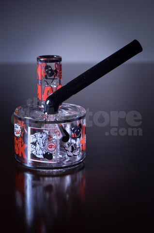 Ski Mask Glass Pole jam w/ Cage Perc #3 10 MM