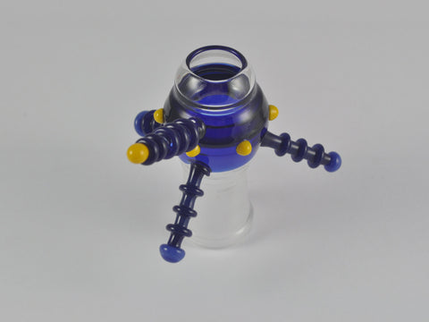 "Engler Glass ""Spaceship"" Dome 18 mm Blue"